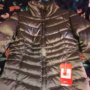 Small grey chrome north face